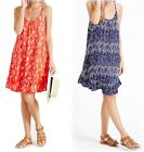 New Ex M&S Ladies Pure Viscose Frill Woven Vest Dress Strappy Top Size 8-22