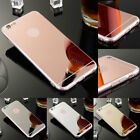 Silicone Ultra Thin Mirror Rubber Shockproof Case For Apple iPhone 8 / 8 Plus