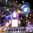 Outdoor LED Moving Laser Projector Snowflakes Light Landscape Xmas Halloween UK