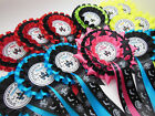 "Halloween Rosettes - 1st, 2nd, 3rd, Halloween Prize ""Haunted House"" Rosettes"