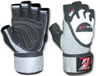 Gel Weight Lifting Body Building Gloves Gym Training Wrap Leather Grip Straps