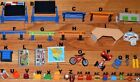 Playmobil CHOOSE Blackboard desk school kids backpack chairs skis iceskates