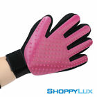 Dog Cat Pet Glove Grooming Brush Gentle Cleaning Massage Deshedding Hair Removal