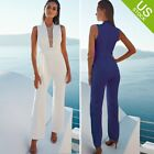 Women Clubwear Playsuit Casual Sleeveless Party Jumpsuit Romper Trousers Pants
