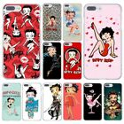 Betty Boop Cute Love Case for iPhone SE 5 6 7 8 plus X 10 Samsung S J A Huawei $4.59 USD