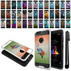 For ZTE Blade Z Max Z982 Sequoia Shockproof Brushed Hybrid Protector Cover + Pen