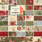 Moda 3 Sisters Christmas Sentiments Quilting Fabric Fat Quarter