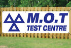 MOT TEST CENTRE BANNER GARAGE SIGN waterproof PVC with Eyelets NM002