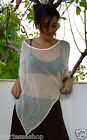 Poncho Sleeveless Top Pixie style Fairy Dance PsyTrance Party wear Festival Yoga
