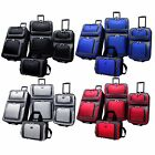 Kyпить New Yorker 4-Piece Light Expandable Rolling Luggage Suitcase Tote Bag Travel Set на еВаy.соm