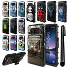 For Samsung Galaxy S8 Active G892A Animal Design Hybrid Stand Case Cover + Pen