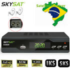 S2020 Dual Tuner ACM H.265 DVB-S2 Digital Satellite Receiver IPTV LAN SKS TV Box