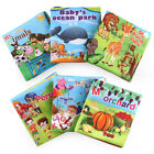 Внешний вид - Baby Shower Bath English Cartoon Animal Cloth Book Early Education Games Toy New