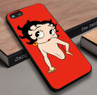 Betty Boop red Design Fit For Apple iPhone 5 6 7 plus Cover Case $9.99 USD