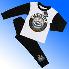 Boys Authentic Official Newcastle United FC Badge Pyjamas #NUFC Age 4-12 Years