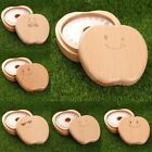 Hand-made Beech Baby Tooth Box Apple Model Storage Box Gifts For Children
