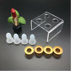 9pcs Lipstick DIY Mold Makeup Handmade Lip Balm Mould Crafts Tools Silicone New