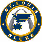 St Louis Blues Circle logo Vinyl Decal / Sticker 5 Sizes!!! $2.99 USD on eBay