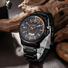 CURREN Modern Men's Quartz Stainless Steel Day Display Waterproof Wrist Watch image