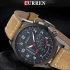 CURREN Sports Men's Quartz Analog Stainless Steel Case Waterproof Wrist Watch