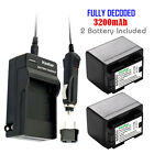 canon legria hf m406 - Kastar 2 Battery & Normal Charger kit for Canon BP-727 BP727 CG-700