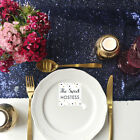 Midnight Blue Sequin Table Runner - Ready to ship from the UK
