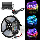 5M WS2812B RGB SMD5050 LED Magic Dream Colour Strip Light Adhesive Tape Full Kit