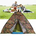 Waterproof 3-4 Person Family Camping Tent Camouflage Hiking Tent 4 Season WN