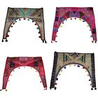 Indian Embroidered Arch Door Hanging Toran Cotton Home Decor Valance Window