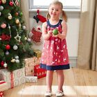 NEW Sleeveless Christmas Print Dress Kids