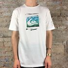 Quiksilver Stamped Casual/Summer Short Sleeve T-Shirt Black size S-XXL
