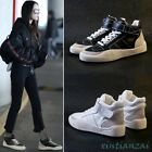 Womens Athletic Lace Up Buckle Sport Sneakers Shoes Flat Heel Comfort Casual