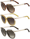 Chloe Jayme Women's Oversize Cat-Eye Sunglasses Made In Italy CE688S