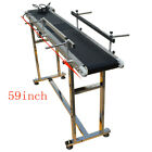 110V  Electric 47.2inch , 59inch , 70.8inch Conveyor Belt  Packaging Supply New