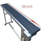 110V  Electric 47.2inch , 59inch , 70.8inch Conveyor Belt  Packaging Supply