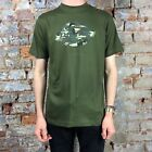 Dickies Johnny Short Sleeve T-Shirt Tee Olive New Size S