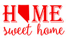 Nevada State Home Sweet Home Vinyl Decal Sticker RV Window Wall Home Choice