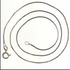 Serpentine Chains  Love & Hearts 15, 16, 18 inch, 925 Sterling Silver