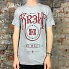 Krew Currency Basic Printed Casual Short Sleeve T-Shirt New in Red - Size: S
