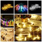 LED Fairy Lights Card Photo Clip String Light Christmas Wedding Party Room Decor