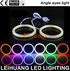 1 Pair 40MM-130MM COB SMD Car LED Light Ring DRL Angel Eyes Halo Headlight Lamp