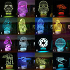 AXAYINC Star Wars Star Trek 3D LED Night light Touch Swift Table Desk Lamp Gift