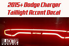 NEW! Dodge Charger Taillight Accent Decal 2015+ Hellcat Scat Pack Mopar SRT SXT $11.99 USD on eBay