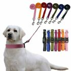 Nylon Dog Leash and Collar, USA Seller, 7 Colors, 4 Sizes Durable! Puppy Lead
