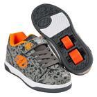 Heelys Dual Up Grey Charcoal Orange