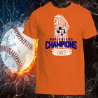 HOUSTON ASTROS WORLD SERIES CHAMPION 2017 T-SHIRT, ADULT UNISEX on Ebay