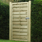 Wooden Garden Gate - Flat Horizontal Top - Free Delivery 50 Miles Boston