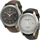 Baume and Mercier Clifton Saphhire Crystal Alligator Leather Automatic Mens