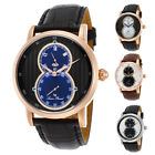 Lucien Piccard Infinity Dual Time Mens Watch 40044 - Choose color