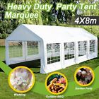 6x6M 4x8M Galvanised pole Commercial Grade Heavy Duty marquee FREE SHIPPING